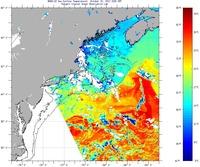 Rutgers sst charts sea surface temperature imcs coastal ocean