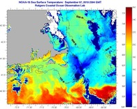 Sea Surface Temperature - IMCS Coastal Ocean Observation Lab on lake ontario water temperature map, cape cod ocean temps, north carolina water temperature map, cape cod water color map, united states water temperature map, atlantic ocean water temperature map, mediterranean water temperature map, hawaii water temperature map, cape cod massachusetts,