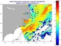 Sea Surface Temperature - IMCS Coastal Ocean Observation Lab