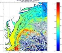 Sea surface temperature imcs coastal ocean observation lab