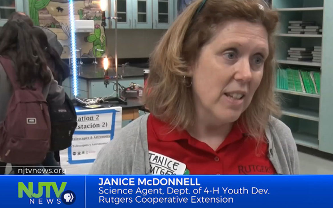 Janice McDonnell Featured on NJTV News: Science & Technology