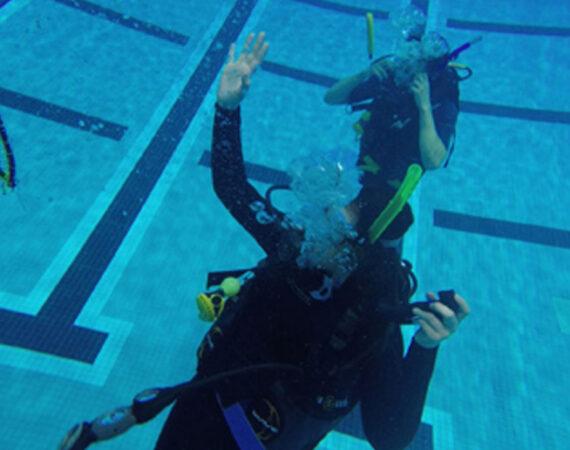 Rutgers-Diving