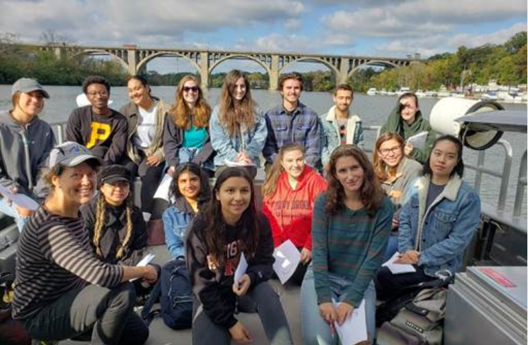 Human Ecology students navigate environmental law and the state of the Raritan River
