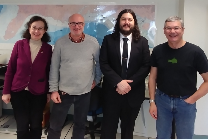Alexander Lopez successfully defended his PhD thesis