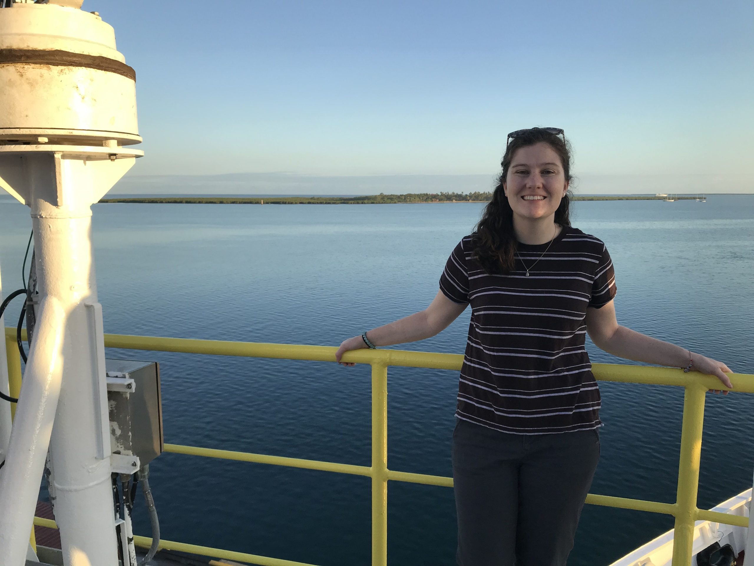 Laura Hayes Searching for Climate Change Clues Under the Ocean Floor
