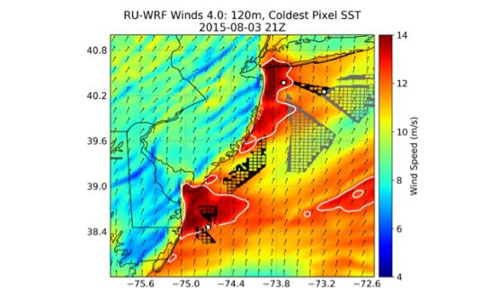 NREL Completes Validation Study of RU-WRF Model