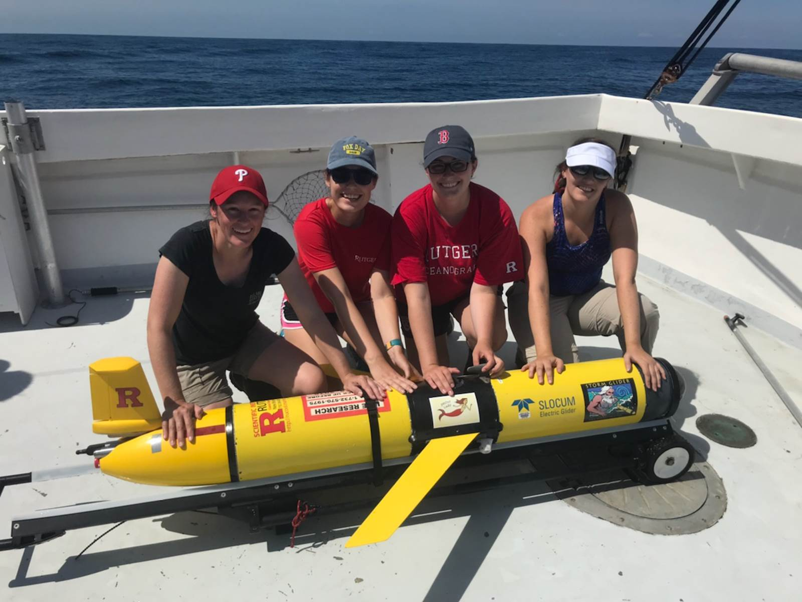 Rutgers University Uses Slocum Glider for Ocean Acidification Study